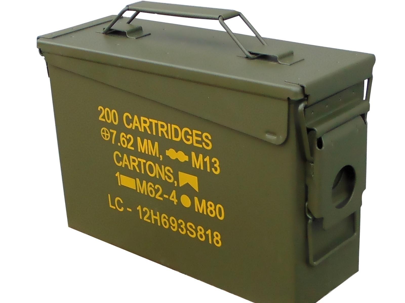 Znalezione obrazy dla zapytania: skrzynka amunicyjna 12,7